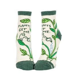 Plants Get Me Women's Ankle Socks