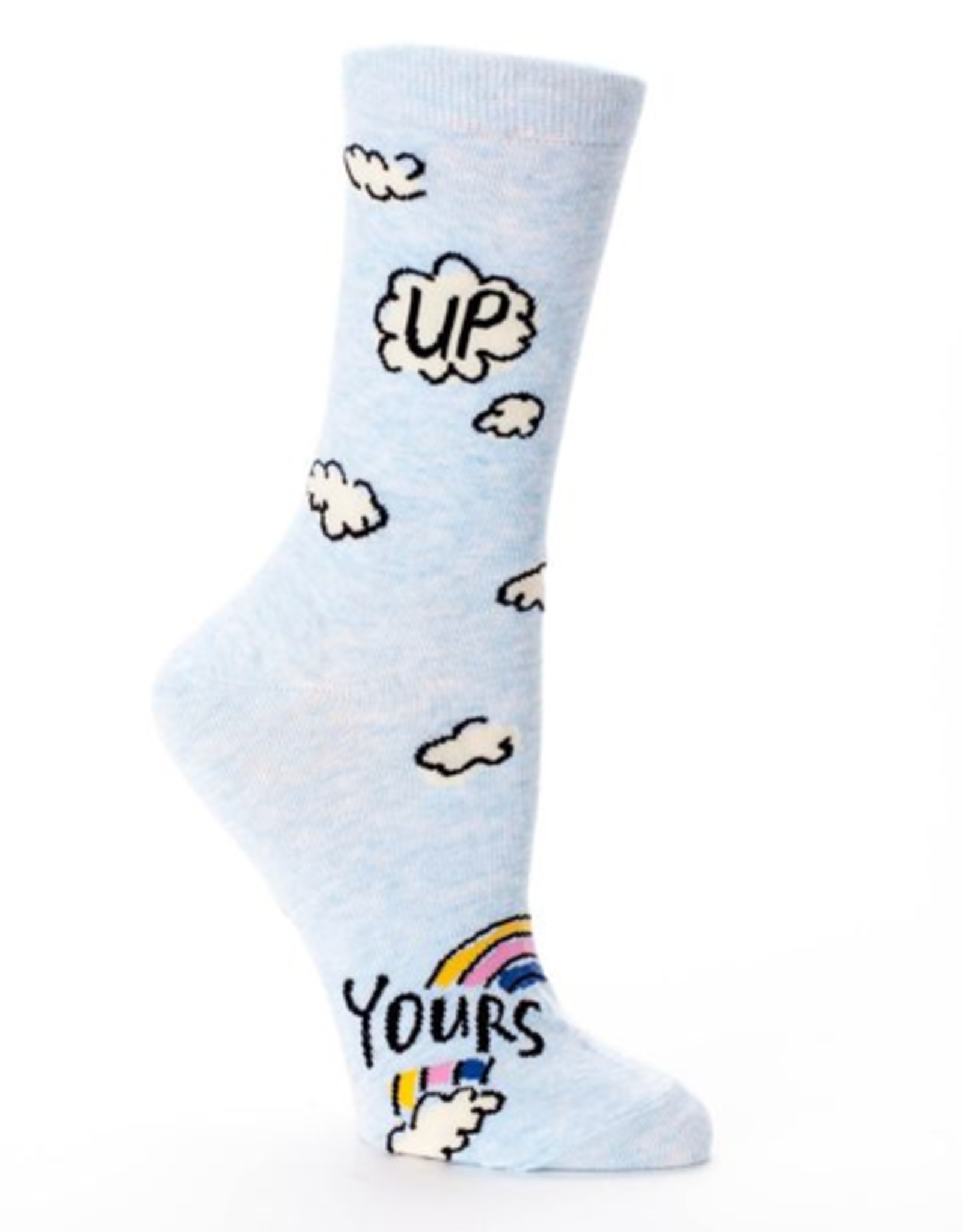 Up Yours Women's Crew Socks