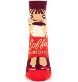 Blue Q Coffee Monster Women's Ankle Socks
