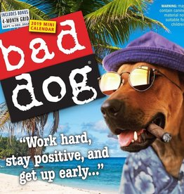Workman Publishing Group Bad Dog Mini Wall Calendar 2019