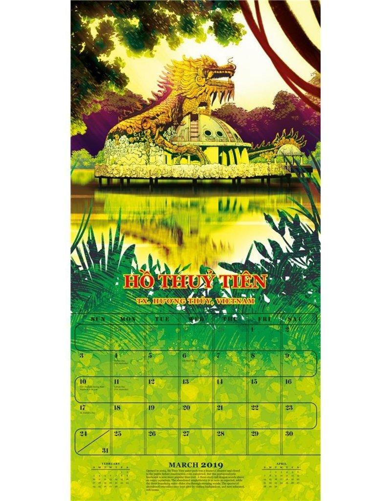 Workman Publishing Group Atlas Obscura Wall Calendar 2019