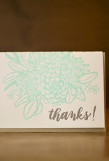 Sugarcube Press Thank You Succulents Boxed Set of 6 Cards