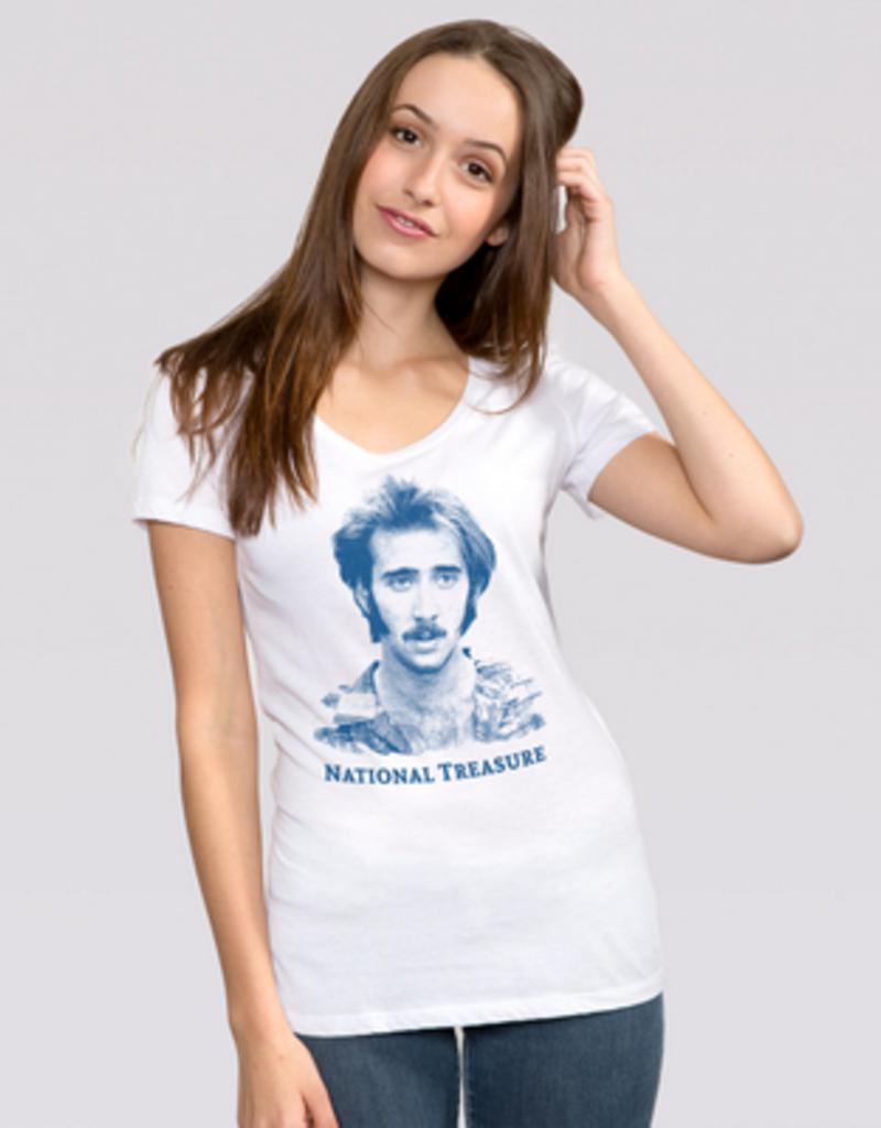 Headline National Treasure Nicholas Cage T-Shirt
