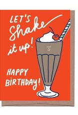 La Familia Green Scratch n Sniff Happy Birthday Shake Greeting Card