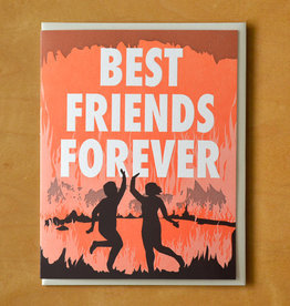 Best Friends Forever Hell Greeting Card
