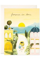 JooJoo Paper Forever in Love Wedding Greeting Card