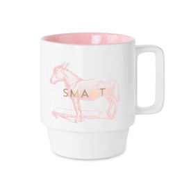 DesignWorks Ink Smart Donkey Ceramic Mug