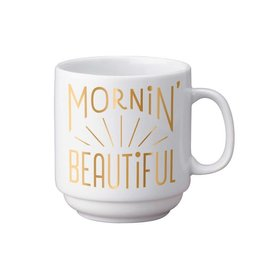 Easy, Tiger Mornin' Beautiful Stackable Mug