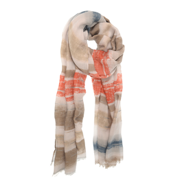 Joy Accessories Brushed Stripe Scarf