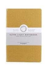 Kikkerland Ultra Light Notebook - Yellow & Navy