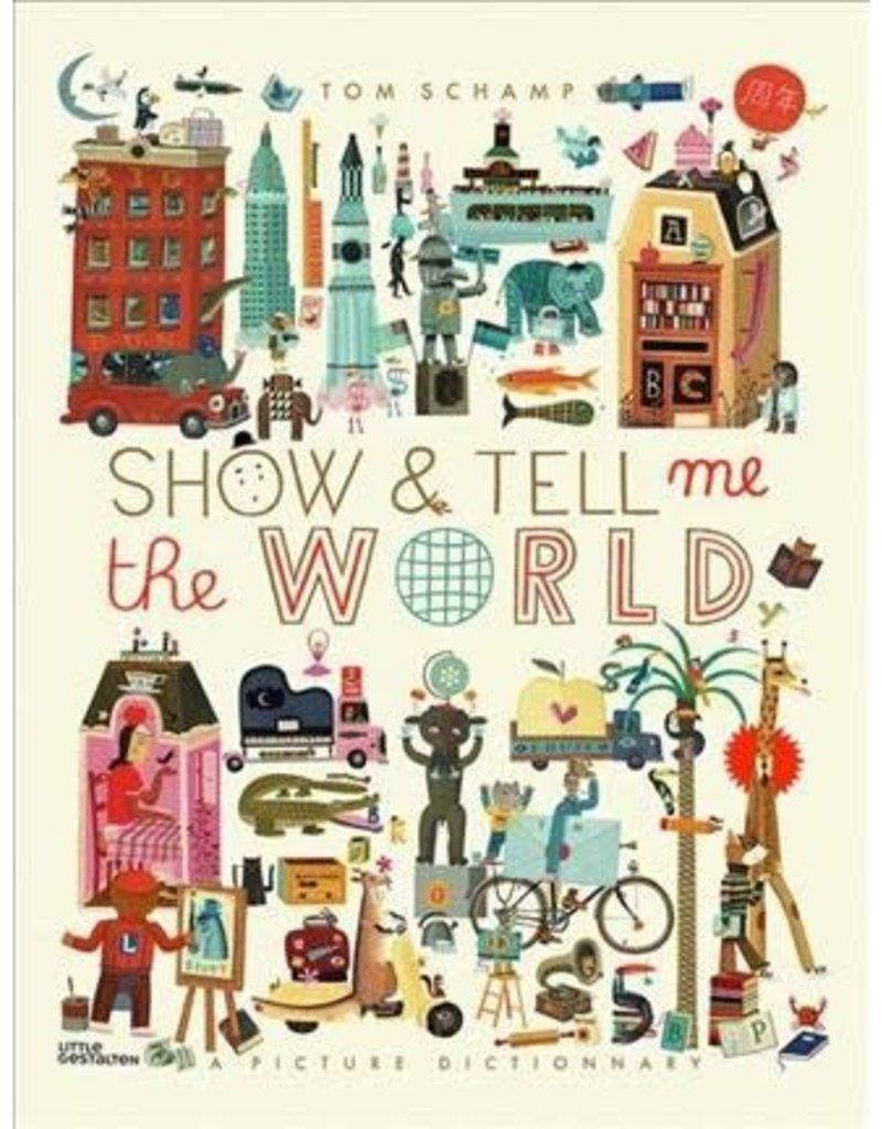 Little Gestalten Show and Tell Me the World