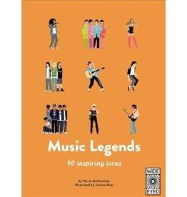 Quarto Music Legends: 40 Inspiring Icons
