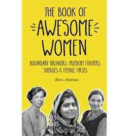 Book of Awesome Women : Boundary Breakers, Freedom Fighters, Sheroes & Female Firsts