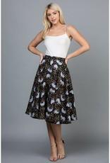 LA Soul Sloth Flowy Skirt with Pockets