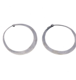 Silver Hoop Earrings, Small