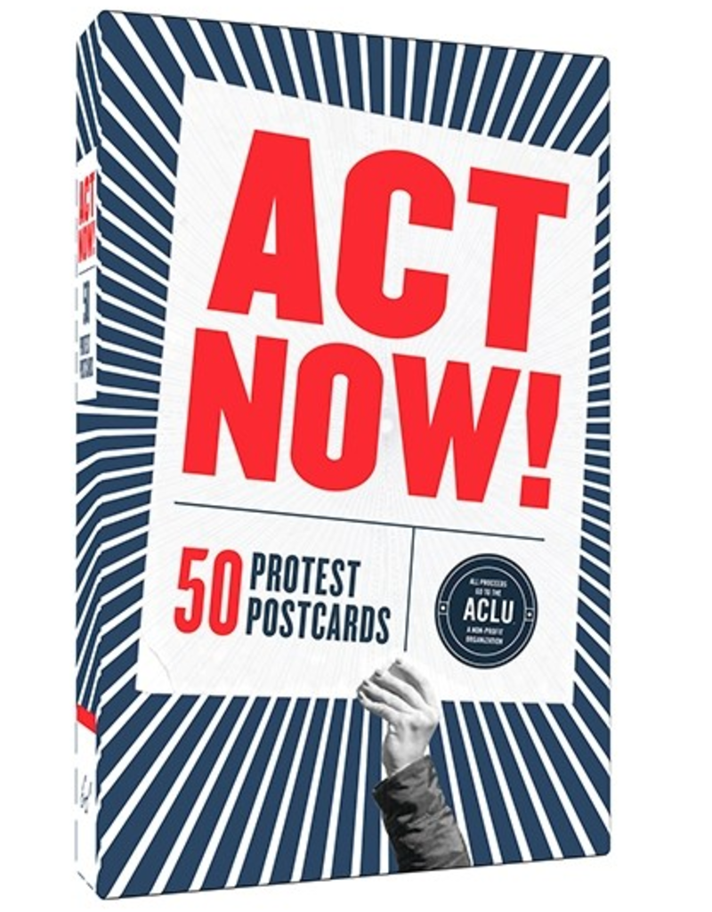 Chronicle Books Act Now! Protest Postcards (Set of 50)