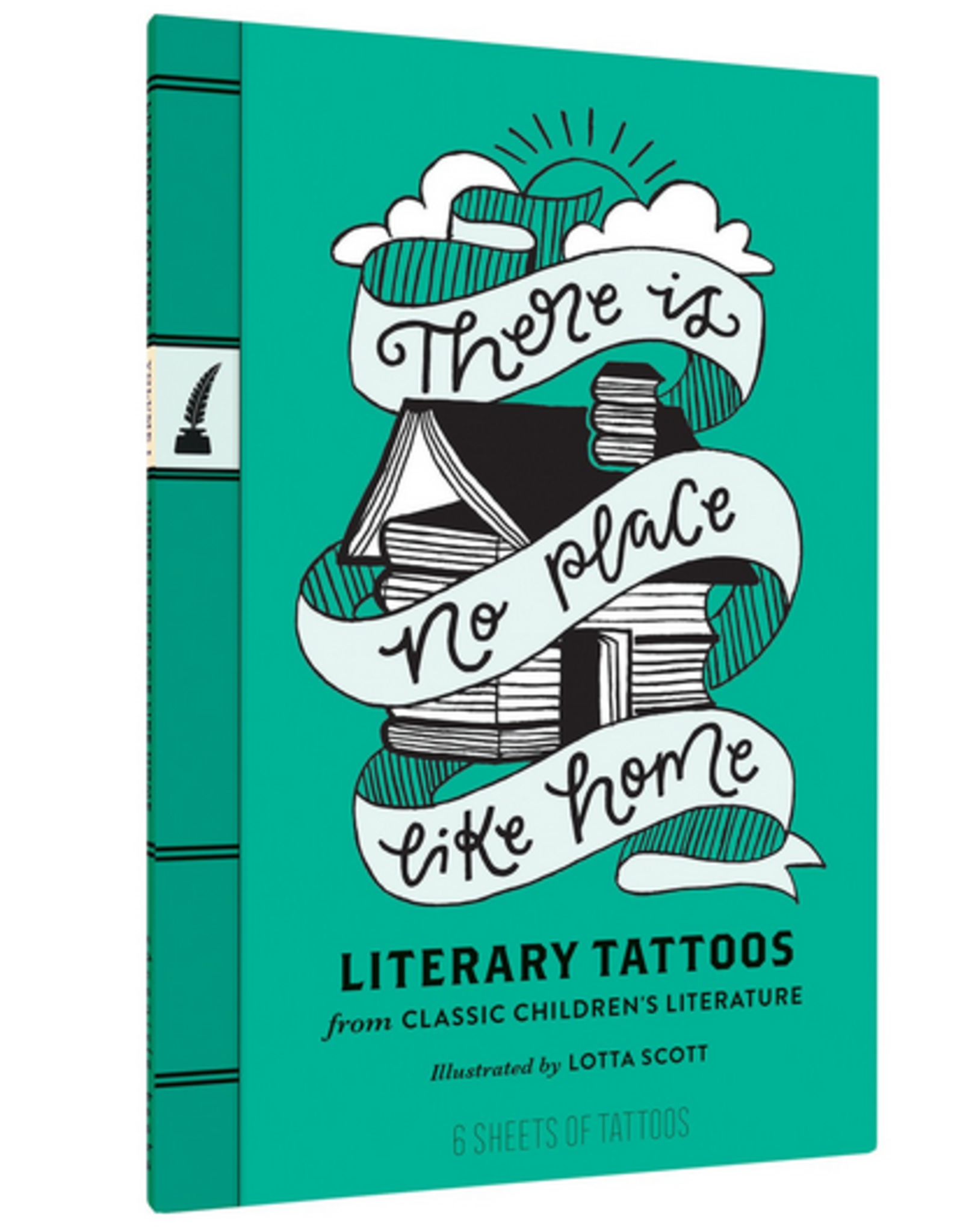 There Is No Place Like Home - Literary Tattoos