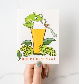 Ilootpaperie Hoppy Birthday Greeting Card
