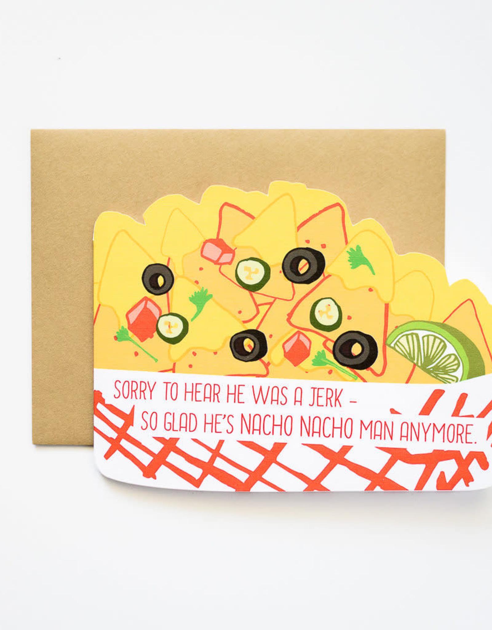 Nacho Nacho Man Greeting Card