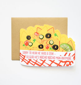 Ilootpaperie Nacho Nacho Man Greeting Card