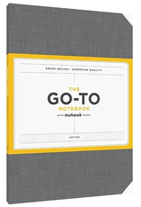 Mohawk Paper The Go-To Notebook (Dotted) - Slate Grey