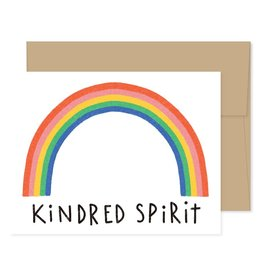 Gingiber Kindred Spirit Greeting Card
