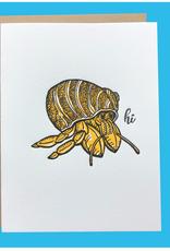 Spofford Press Hi Hermit Crab Greeting Card