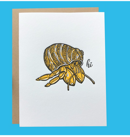 Spofford Press Hi Hermit Crab Greeting Card