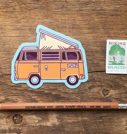 Noteworthy Paper & Press VW Camper Sticker