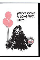 Smitten Kitten You've Come a Long Way Baby! Reaper Greeting Card