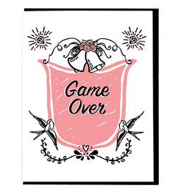 Smitten Kitten Game Over Greeting Card