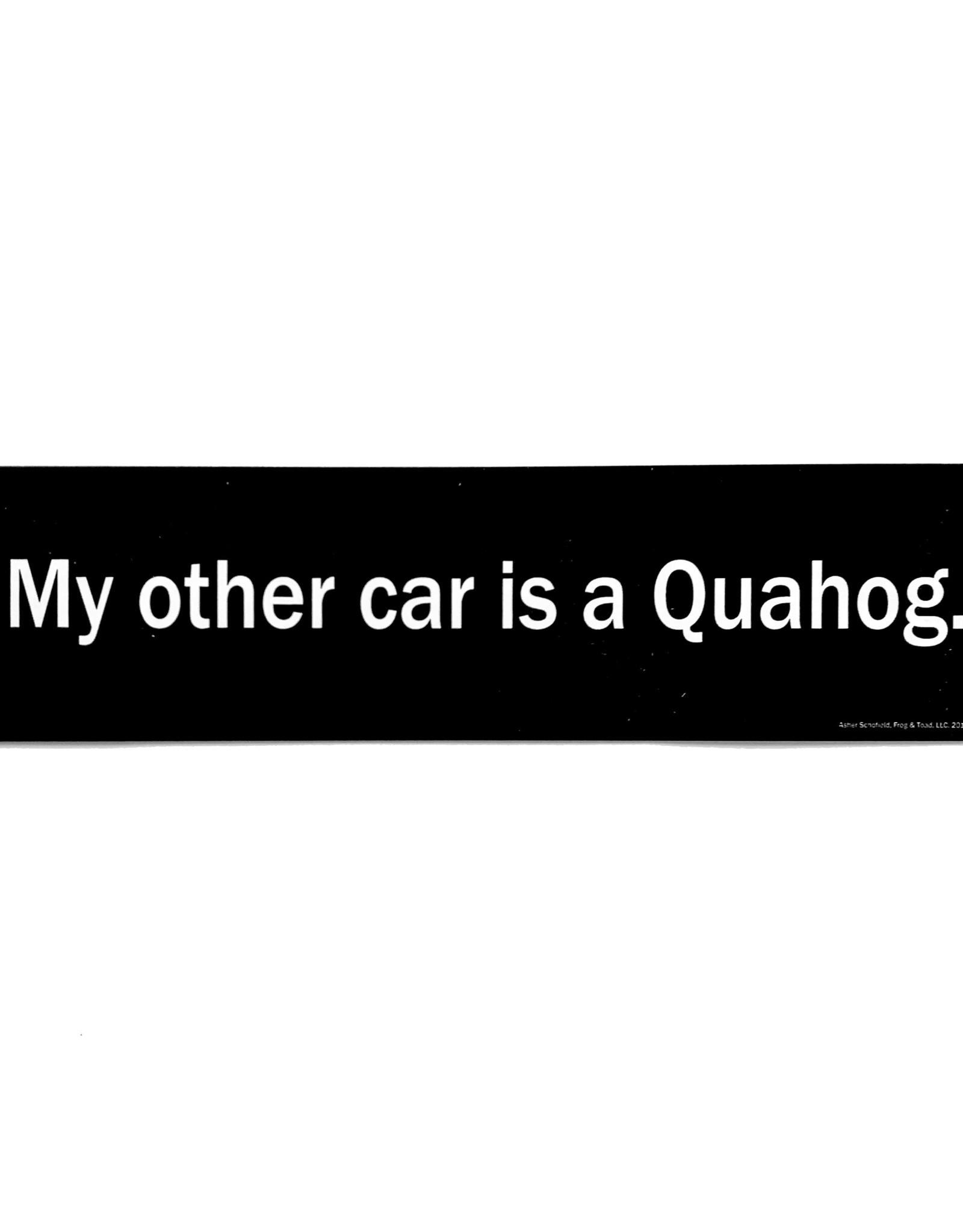 My Other Car Is A Quahog Bumper Sticker