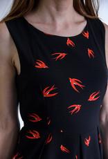 SM Wardrobe Red Bird Dress