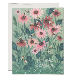 Bee-yond Grateful Greeting Card
