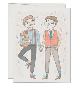 Boy Wedding Greeting Card