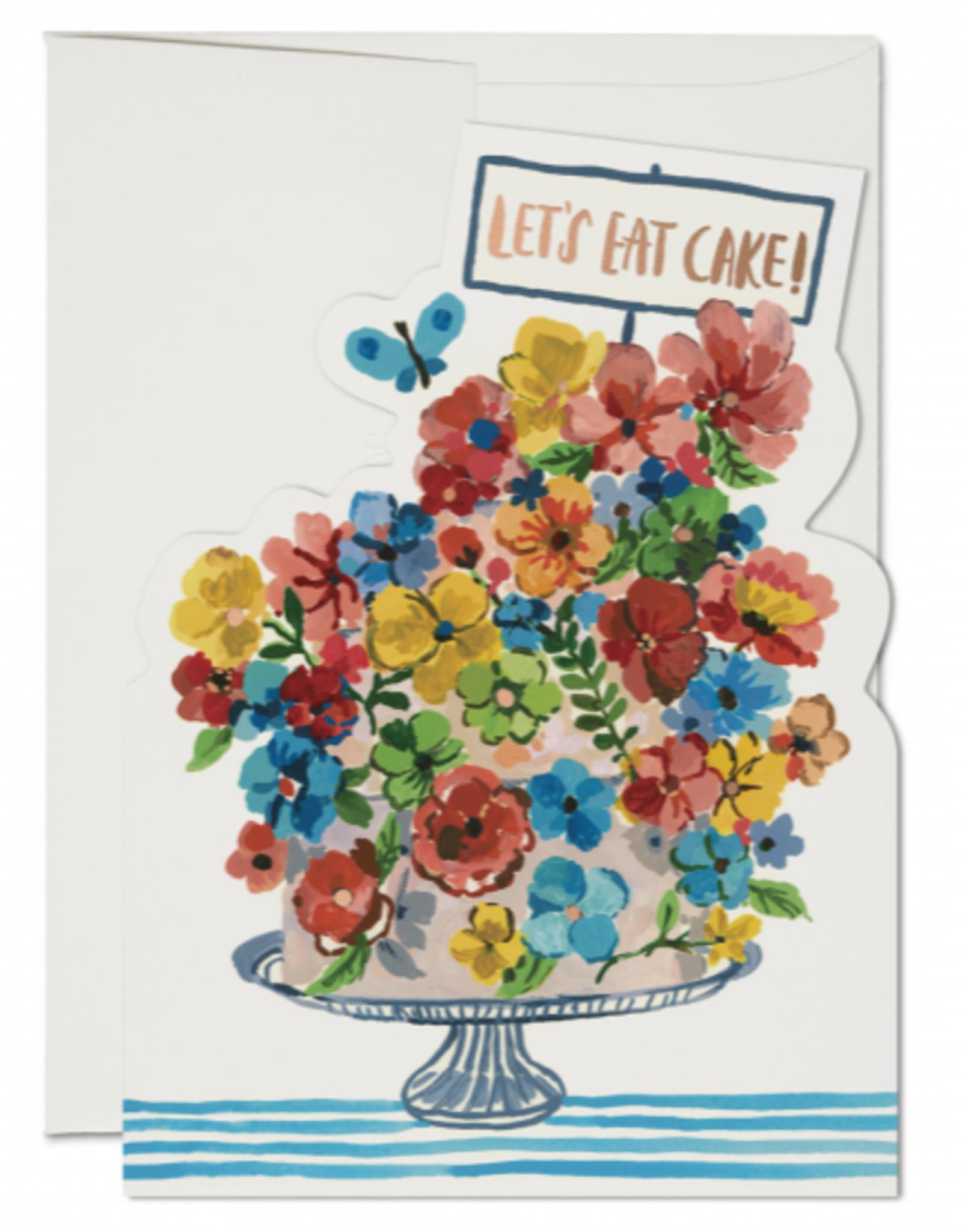 Let's Eat Cake Greeting Card
