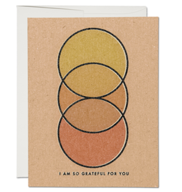Red Cap Cards I Am So Grateful For You Greeting Card