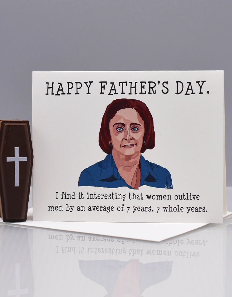 "Seas and Peas Debbie Downer ""SNL"" Father's Day Greeting Card"
