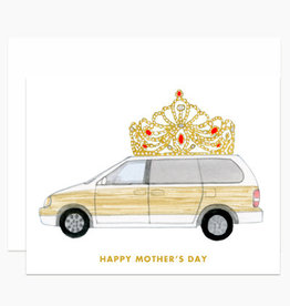 Queen of the Road Greeting Card