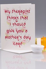 Seas and Peas Therapist Mother's Day Card