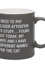 My Wife and I Have Different Names For The Cat Mug