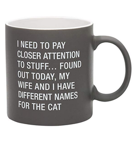 Say What? My Wife and I Have Different Names For The Cat Mug