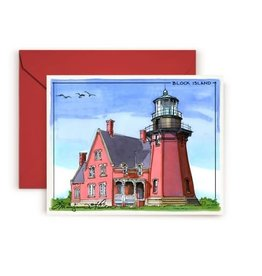 Maryann Fenton Block Island Greeting Card