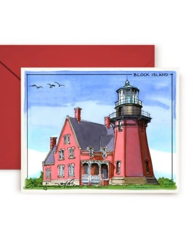 Maryann Fenton Block Island Greeting Card