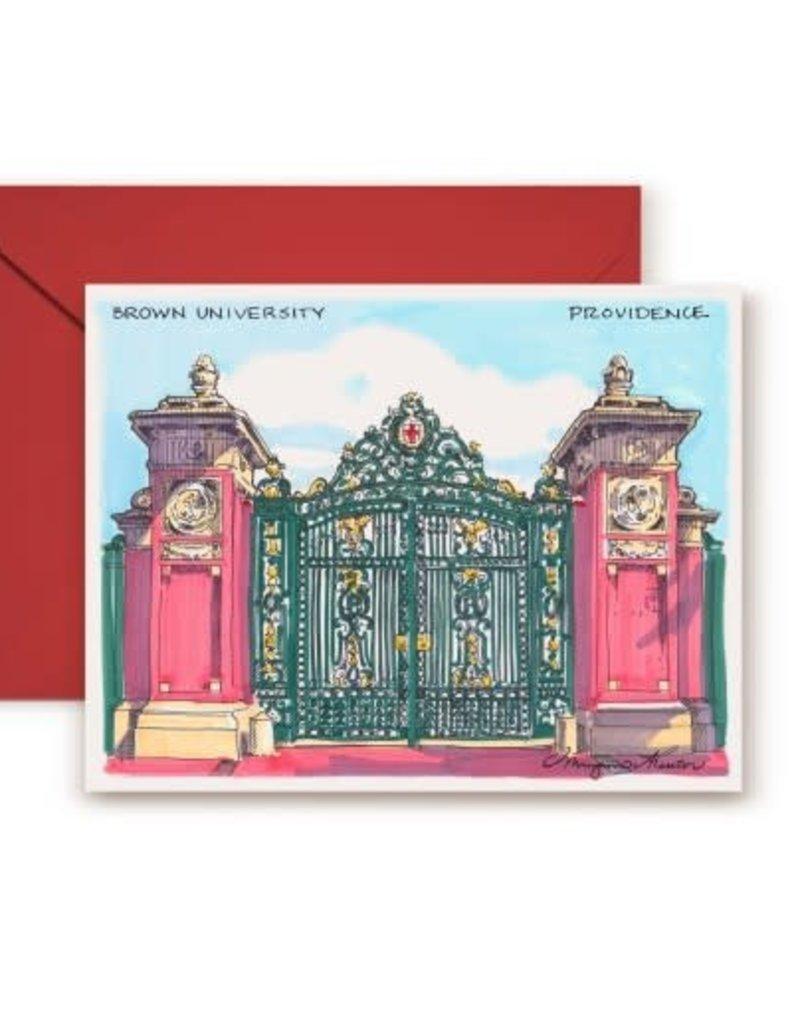 Maryann Fenton Brown's Gate Greeting Card