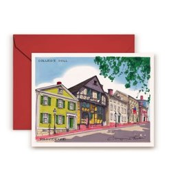 Maryann Fenton College Hill Greeting Card