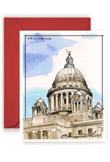Maryann Fenton State House Greeting Card