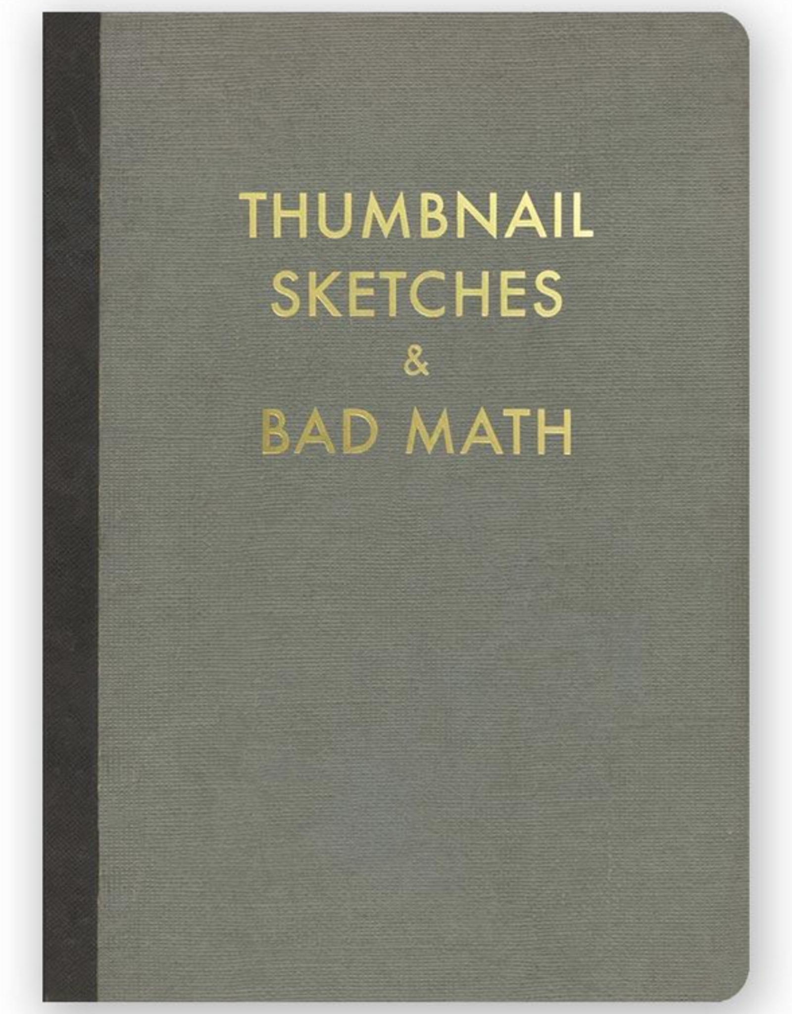 Thumbnail Sketches and Bad Math Journal