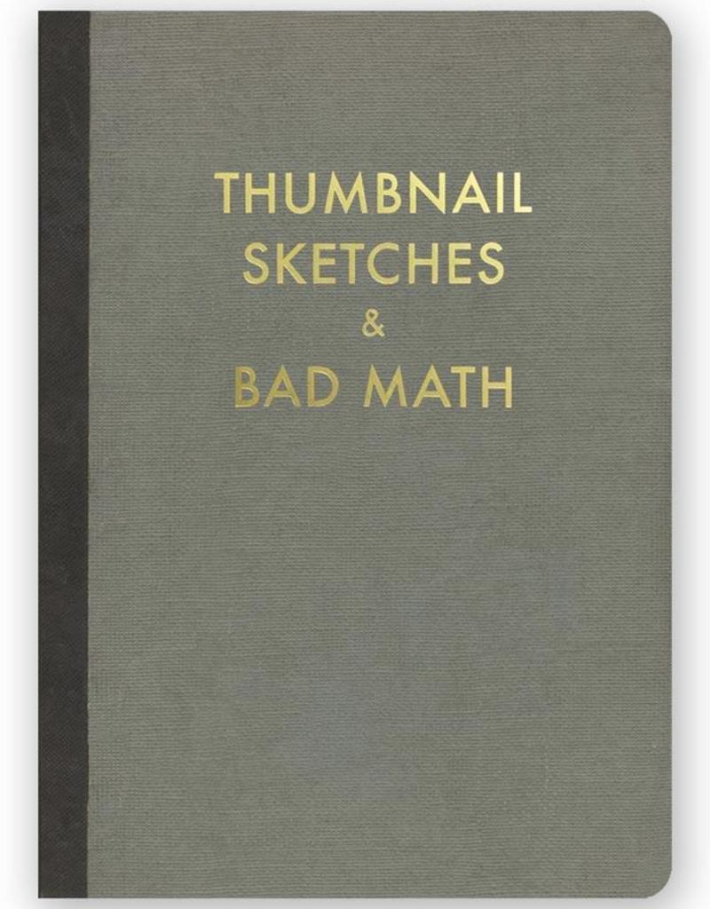 Mincing Mockingbird Thumbnail Sketches and Bad Math Journal
