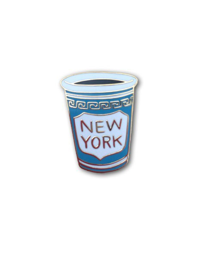 The Found NYC Coffee Cup Enamel Pin